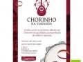 Banner Spaghetti Lilás Chorinho na Varanda
