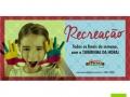 Banner Torre de Pizza Recreação