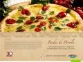 Jogo Americano Torre de Pizza Bodas de Pérola