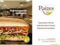 Jogo Americano restaurante Raízes