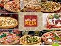 Jogo Americano Torre de Pizza - mês da pizza
